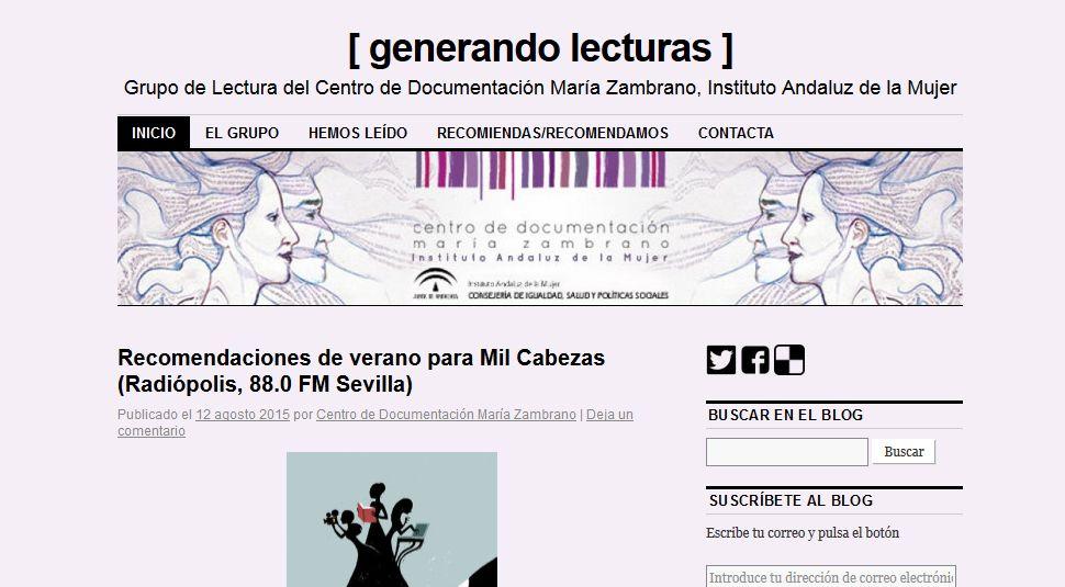 Centro de Documentación María Zambrano, imagen corporativa por UyM