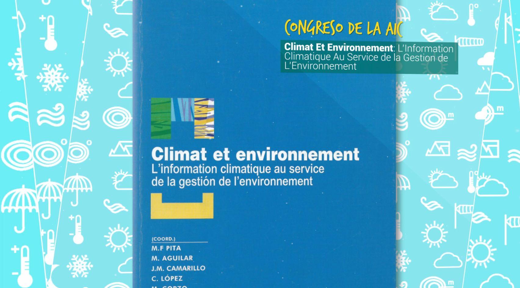 Vídeo del 25 Aniversario del Grupo de Climatología