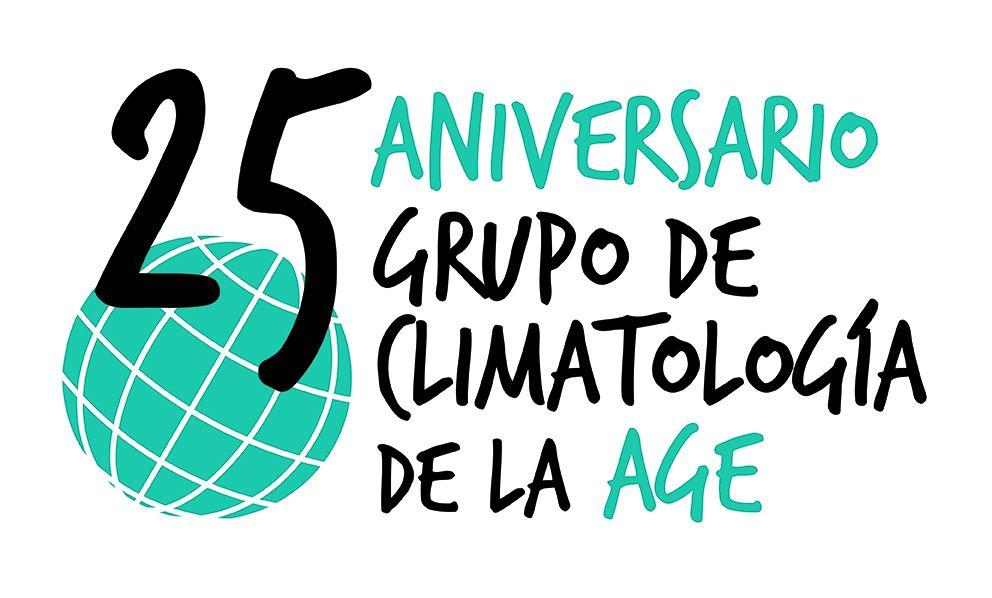 Logo 25 Aniversario del Grupo de Climatología