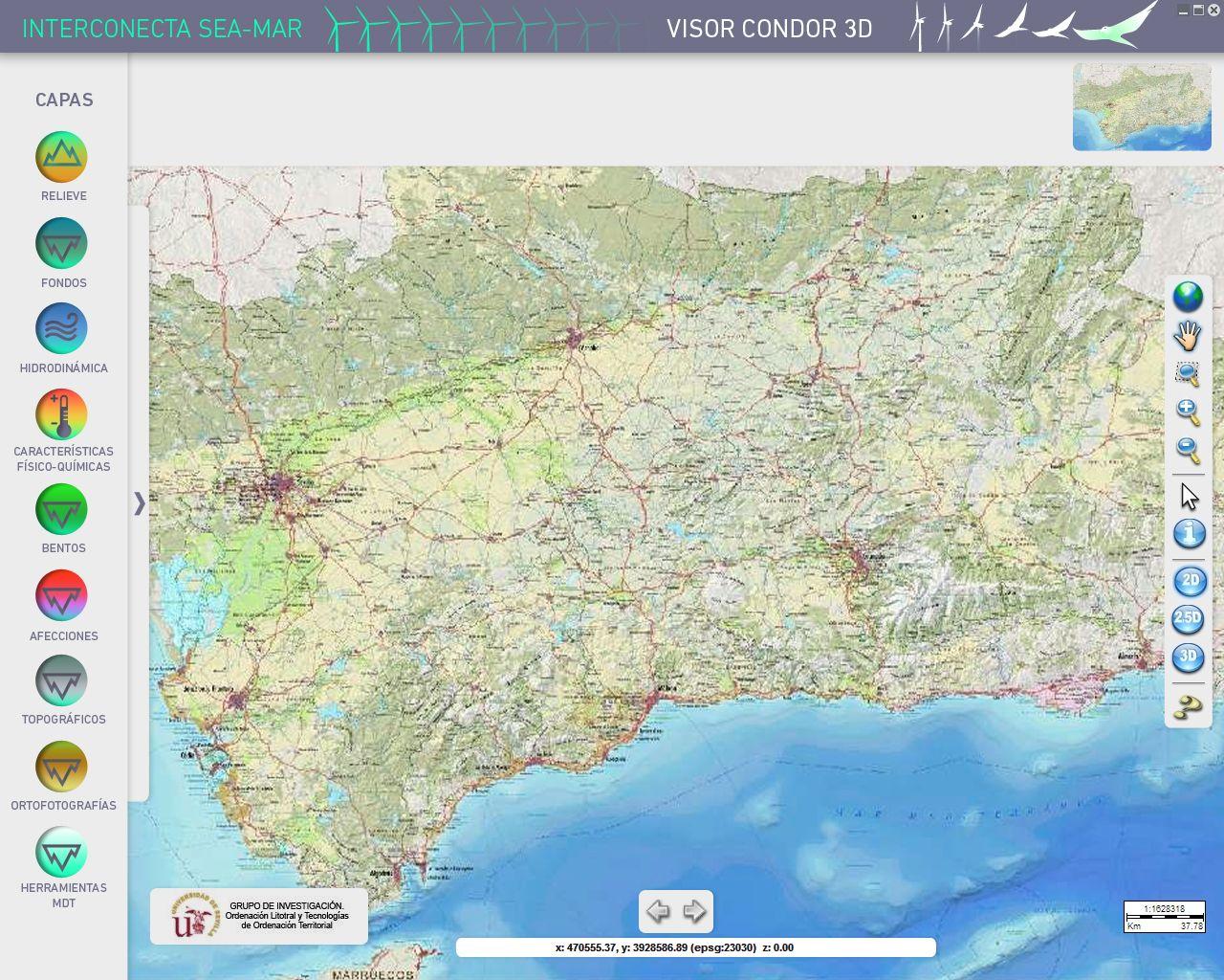 Visor Condor 3D, por UyM