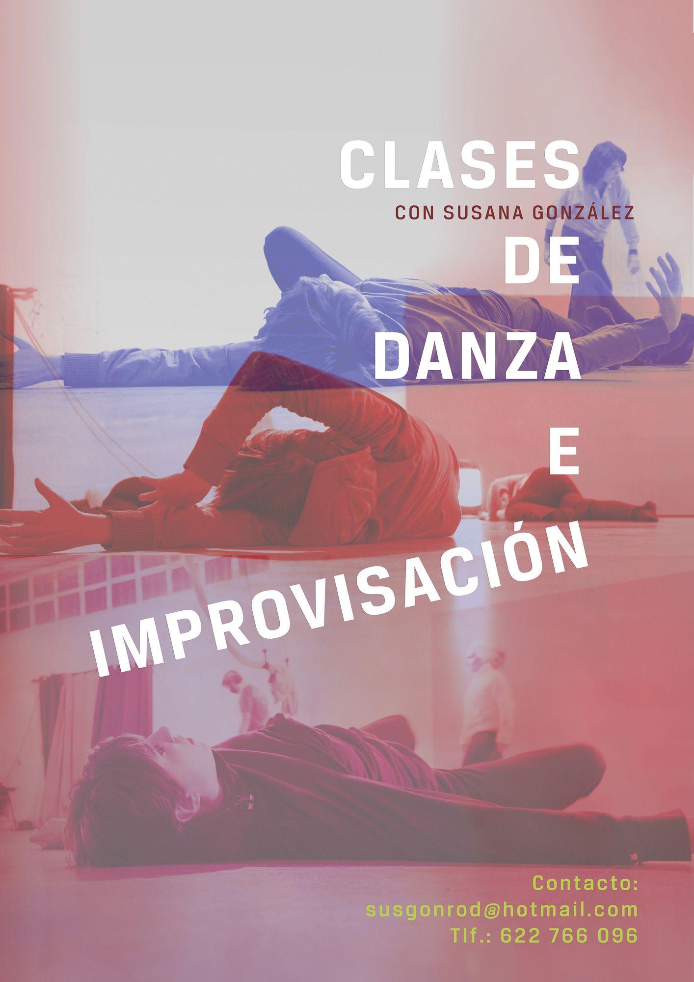 Cartel Danza Susana González por UyM. Laura León Morillo