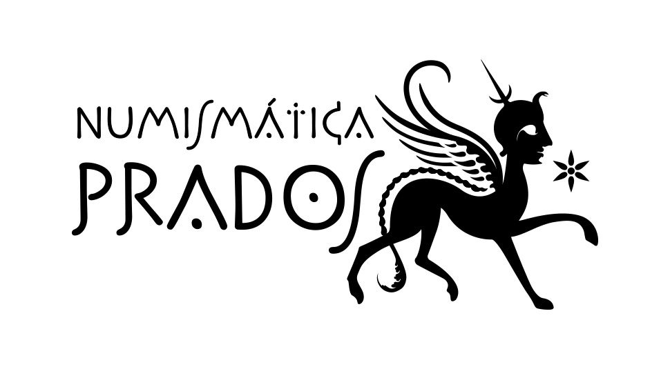Identidad visual: Logo Numismática Prados