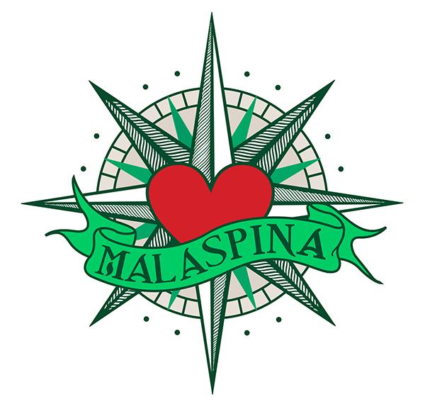 Malaspina, branding y web por UyM.