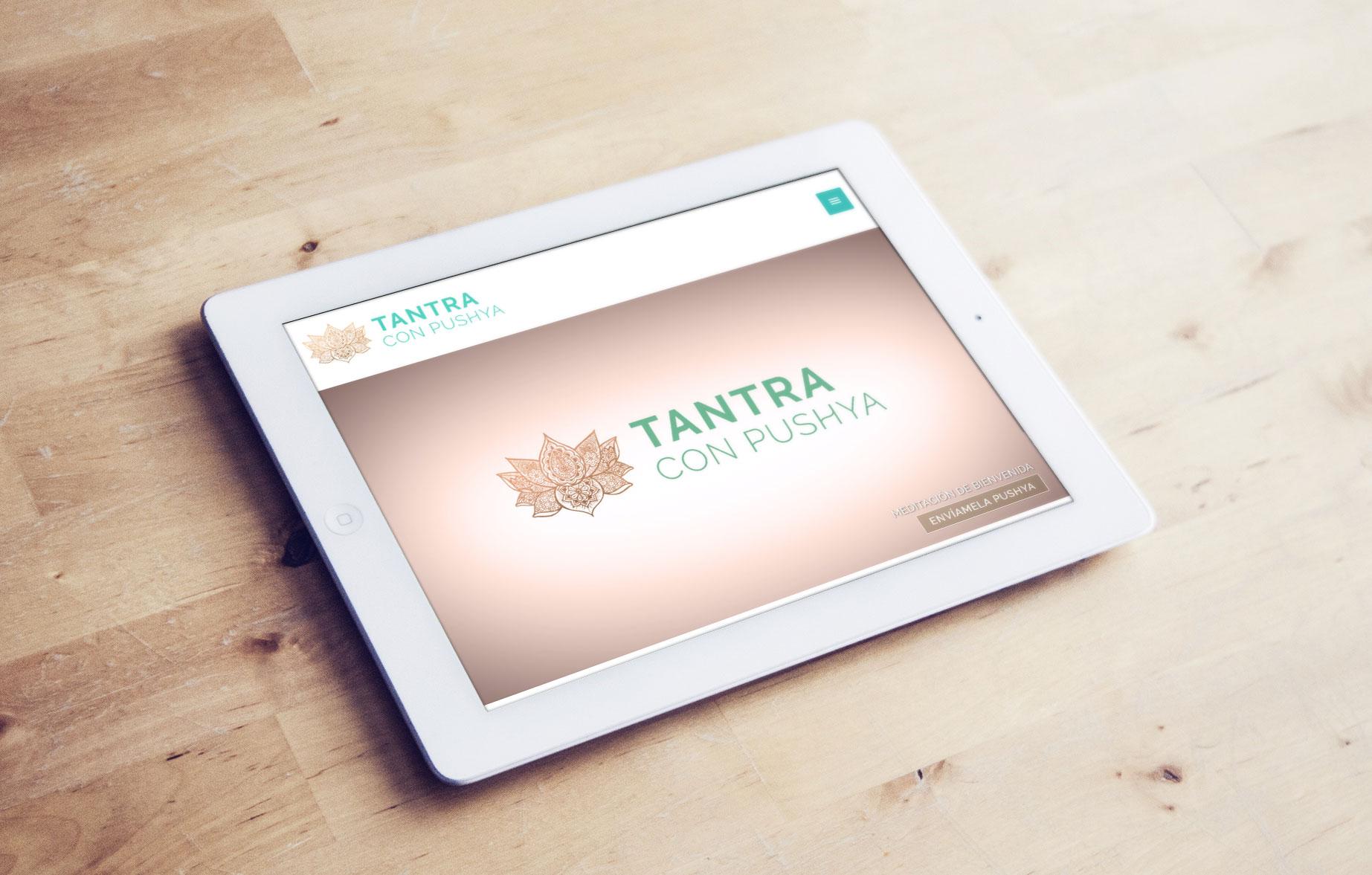 Web tantraconpushya.es por UyM