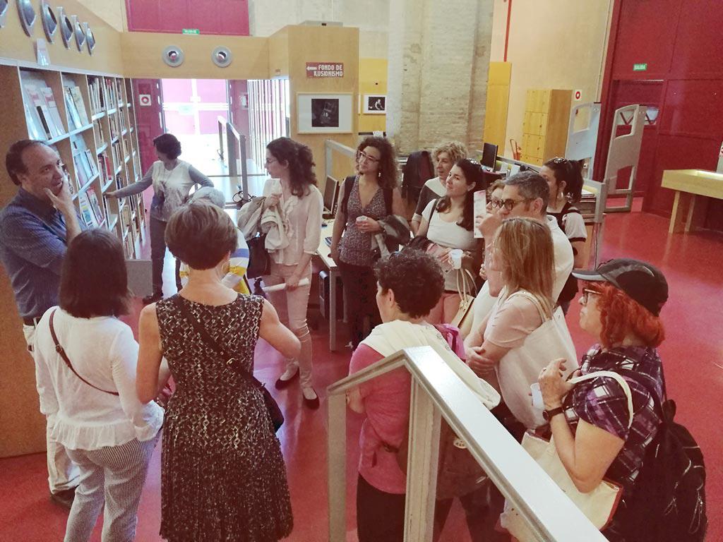 El Centro de Documentación de las Artes Escénicas de Andalucía colabora con el XXV Encuentro de la Red de Centros de Documentación y Bibliotecas de Mujeres. UyM y Violeta Asensio.