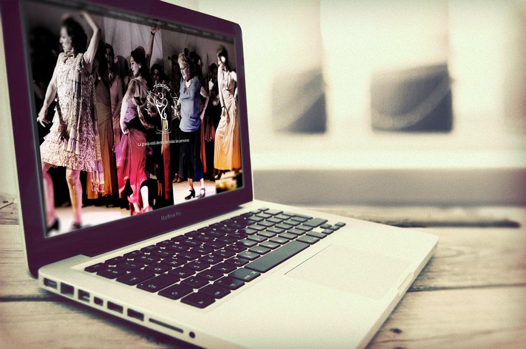 Web Escritorio de Autoestima Flamenca