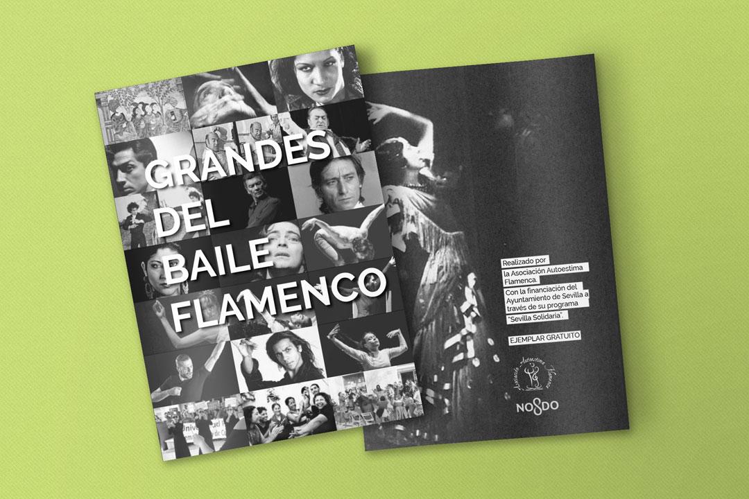 Publicación Grandes del Baile Flamenco